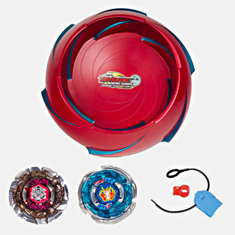 coffrets toupie lanceur et mallettes beyblade en vente pour no l 2011 chez les marchands de jouets. Black Bedroom Furniture Sets. Home Design Ideas