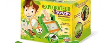 Jeux de découverte de la nature et des insectes