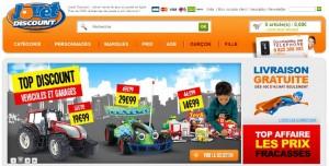 vente en ligne de jeux et jouets discount sur et king jouet discount. Black Bedroom Furniture Sets. Home Design Ideas