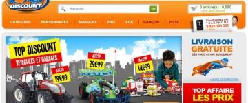 Jeux et jouets discount
