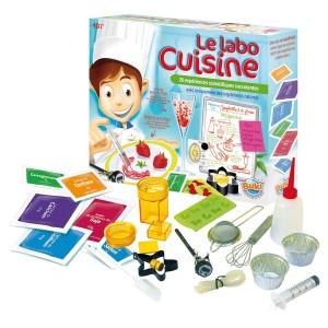 Le labo cuisine : jeu scientifique sur la cuisine