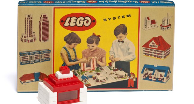 Boîte de Lego de 1958