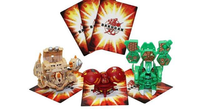 Figurines et cartes Bakugan pour les garçons