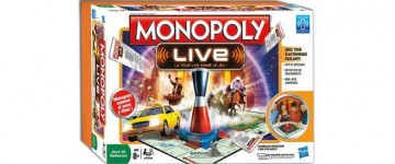 Jeu de société Monopoly Live