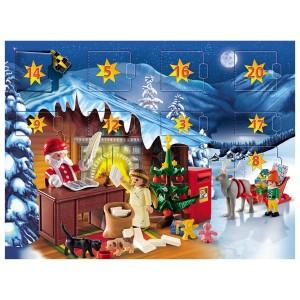 Calendrier de l'Avent Playmobil, l'atelier du Père-Noël