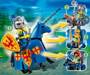 Multiset Playmobil Chevalier