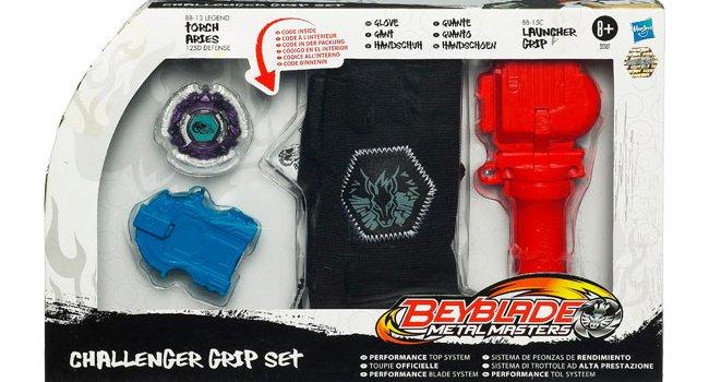 Coffret Beyblade Challenger à offrir pour Noël 2011