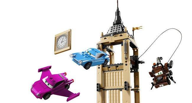 Nouveaux modèles de boîte Lego inspirés de Cars 2