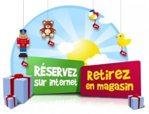 Services de réservation de jouets en ligne