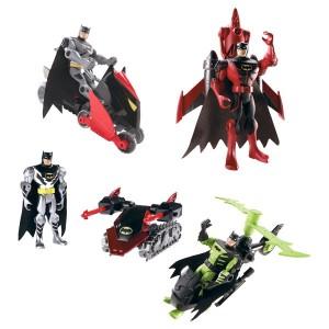 Figurines et véhicules Batman par Mattel