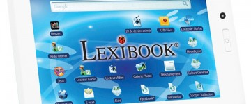 Tablette Lexibook avec Webcam