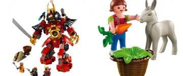 Lego et Playmobil