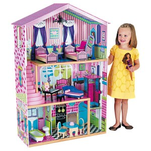 maison poup e maison miniature bois maison barbie blog des jouets. Black Bedroom Furniture Sets. Home Design Ideas