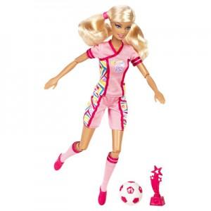 Barbie championne de foot