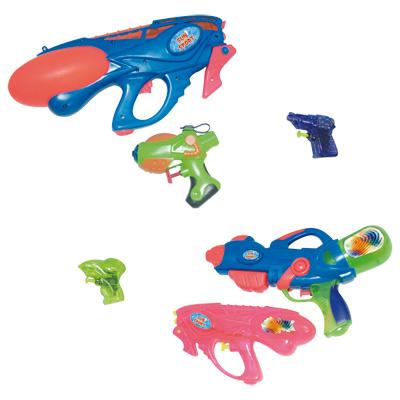 set 6 pistolets à eau