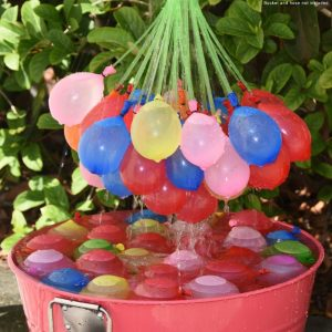 Water-sprinkling-3-Bunches-set-110-Balloons-Bunch-O-Balloon-Magic-balloons-children-water-game-toys