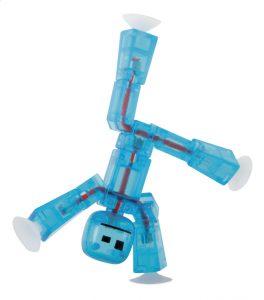 bluestickbot jouet robot collant