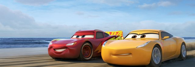 "OFF TO THE RACES — Disney•Pixar's ""Cars 3"" is teaming up with NASCAR this year as crowd favorite Lightning McQueen (voice of Owen Wilson) prepares to return to the big screen June 16, 2017, alongside elite trainer Cruz Ramirez (voice of Cristela Alonzo). Details about the season-long collaboration, which marks the biggest between the ""Cars"" franchise and NASCAR, were shared today (Feb. 23, 2017) in Daytona Beach, Fla., ahead of this weekend's 59th annual Daytona 500—for which Wilson will serve as grand marshal. © 2017 Disney•Pixar. All Rights Reserved."